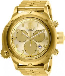 腕時計 ウォッチ ロシアゴールドクォーツステンレスinvicta russian cuarzo 200m dorado reloj acero inoxidable 26463