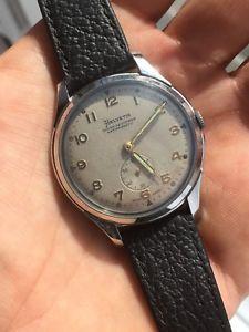 腕時計 ウォッチ クロックaos 40 muy grande helvetia hombre vestido reloj en bonito condicin 37,15mm