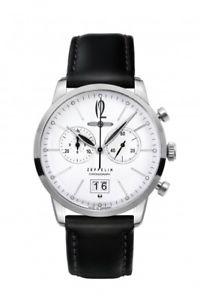 【送料無料】腕時計 ウォッチ ツェッペリンアラームフラットクロノグラフペンダントナイツzeppelin reloj flatline 73861 muy plana reloj pulsera chronograph colgante caballeros