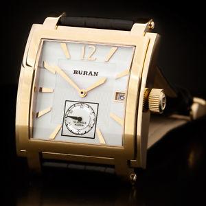 【送料無料】腕時計 ウォッチ ブランロシアゴールドペンダントクロックburan square poljot funcionan 2614021066511 reloj rusa oro colgante