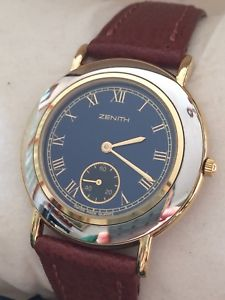 【送料無料】腕時計 ウォッチ zenith quartz ref4190074881 gold plated mens nos with warranty