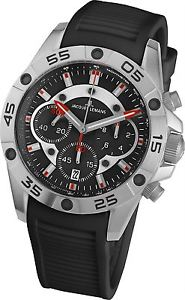 【送料無料】腕時計 ウォッチ ジャックルマンリバプールクロノグラフクオーツアナログウォッチシリコンjacques lemans liverpool 11773a gents silicone chronograph quartz analog watch