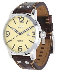 【送料無料】腕時計 ウォッチ スチールレディースダークブラウンミリ