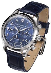 【送料無料】腕時計 ウォッチ カールフォンアラームオリジナルcarl von zeytenelzcvz0026bl reloj hombre nuevo original