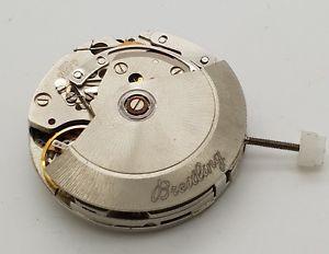 【送料無料】腕時計 ウォッチ ビンテージブライトリングクロノグラフムーブメントvintage breitling eta 7750 automatic chronograph movement 17 jewels, chronomat