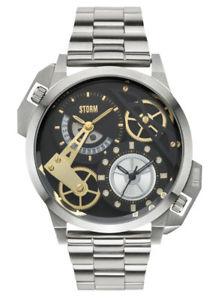 【送料無料】腕時計 ウォッチ ロンドンタイムゾーンstorm london dualon negro reloj hombre 47135bk anlogo varios huso horario