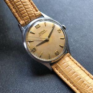 【送料無料】腕時計 ウォッチ ドクサスイスアラームサケ1961 doxa ptina de salmn hecho en suiza reloj para hombre 34,9mm