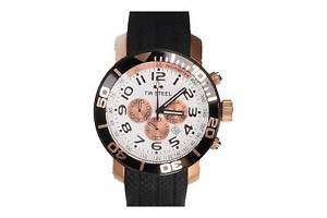 【送料無料】腕時計 ウォッチ スチールダイバーレディースクロノグラフブラックゴールドtwsteel grandeur diver seores reloj de pulsera tw77 crongrafo negro oro