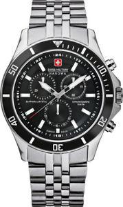 腕時計 ウォッチ スイスクロノアナログクロノグラフswiss military hanowa flagship chrono 65183704007 analgico chronograph edelsta