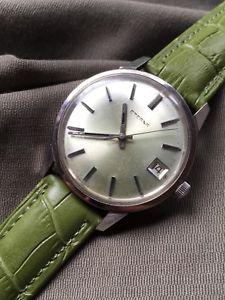 【送料無料】腕時計 ウォッチ ボックスアラーム1960s caja de acero eterna reloj para hombres de bobinado a mano