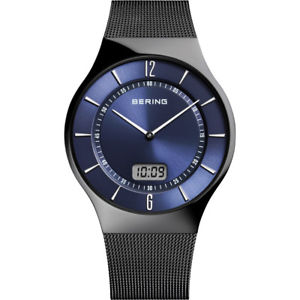 【送料無料】腕時計 ウォッチ ベーリングラジオアラームクロノグラフブラックブラックマン