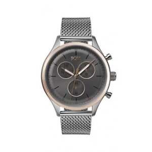 【送料無料】腕時計 ウォッチ アラームクロノグラフヒューゴボスナイツコンパニオンreloj crongrafo hugo boss caballeros compaero 1513549