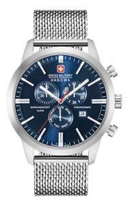 【送料無料】腕時計 ウォッチ スイスクロノクラシックアラームアナログクロノグラフswiss military hanowa chrono classic reloj hombre 6330804003 analgico chronograph,