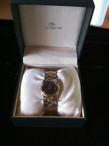 腕時計 ウォッチ スチールゴールドorologio lorenz bracciale acciaio e oro 18kt  watch steel and gold