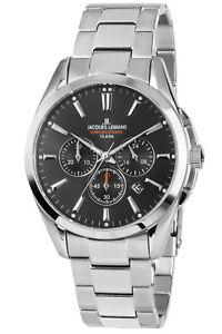 【送料無料】腕時計 ウォッチ ジャックルマンクロノグラフダービークロノjacques lemans seores reloj pulsera chronograph derby chrono 11945d