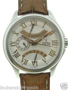 腕時計 ウォッチ デュアルタイムスチールfestina cosmopolite dualtime f16275 acero 2000 aprox