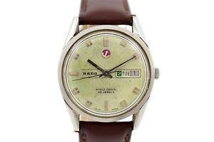 【送料無料】腕時計 ウォッチ クロックnuevo anunciovintage rado mundo viaje dafecha reloj automtico para hombres 1673