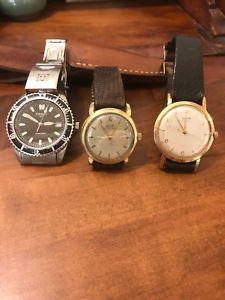 【送料無料】腕時計 ウォッチ トロワロットウォッチlot de trois montre watch quartz et mecanique plonger