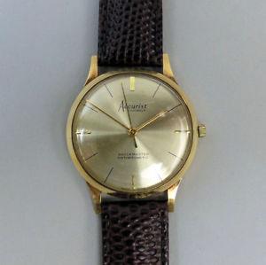 【送料無料】腕時計 ウォッチ マニュアルゴールドreloj de pulsera vintage accurist 21 joya manual wind 9ct de oro c1960 en gwo