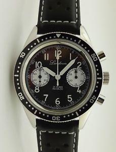 pilote a ty2901st1901 manuel パンダlanderon chronographe mouvement 【送料無料】腕時計 ウォッチ remontage panda
