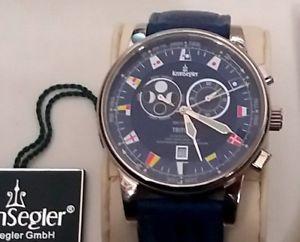 【送料無料】腕時計 ウォッチ アラームトリトンセットmareas reloj kronsegler vidriera triton full set con pantalla cromtidas nuevo embalaje original nos