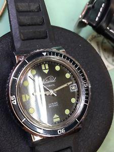 腕時計 ウォッチ ビンテージダイバーウォッチフランスソクリーブベゼルvintage rare diver watch national french soviet 23 rubis 26162h bakelite bezel