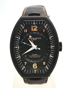 腕時計 ウォッチ デラックスチタンブラックリファレンス