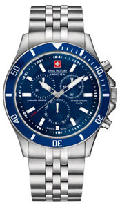 【送料無料】腕時計 ウォッチ スイスクロノアラームガラスサファイアswiss military hanowa flagship chrono 065183704003 reloj hombre zafiro vidrio nuevo