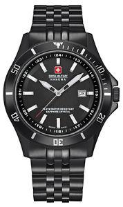 【送料無料】腕時計 ウォッチ スイスブラックアラームガラスサファイア