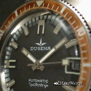 【送料無料】腕時計 ウォッチ ビンテージダイバーステンレスvintage diver watchdugena watertrip automatic acero ungetragen aprox 1975 nos