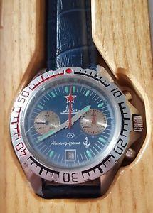 【送料無料】腕時計 ウォッチ ヴォストークヴォストーククロノグラフビンテージwostok 3133 chronograph vostok komandirskie 80er vintage poljot 711982