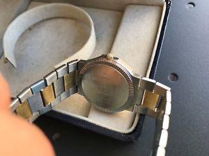 腕時計 ウォッチ メルシエリビエラゴールドクオーツorologio baume amp; mercier riviera uomo, 30 mm, acciaio oro, watch, quarzo