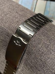 【送料無料】腕時計 ウォッチ ビンテージステンレススチールブレスレットvintage movado de acero inoxidable pulsera de acero 18 mm