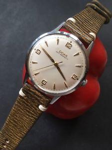 【送料無料】腕時計 ウォッチ マニュアルスイスアラームサイズドクサ1959 manual doxa de gran tamao hecho en suiza reloj para hombre 37mm