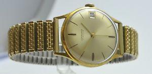 腕時計 ウォッチ アラームゴールドjunghans 17 jewelsreloj hombrefuncionandorado