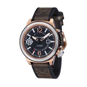 腕時計 ウォッチ バラストトラファルガーダークブラウンアラームel lastre trafalgar bl313302 automatik reloj hombre con oscuro marrn bffellederar