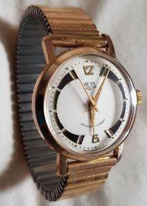 【送料無料】腕時計 ウォッチ ワークエリアドイツvidriera gub 601 reloj pulsera funcionan rarezas esfera rar 60er rda culto