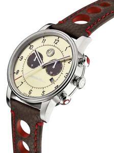 【送料無料】腕時計 ウォッチ ローズクロノグラフアラームメルセデスベンツクラシックレザーreloj de pulsera seores chronograph original mercedes benz reloj cuero classic 300 sl