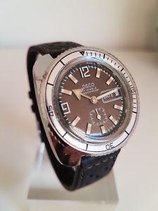 【送料無料】腕時計 ウォッチ ビンテージダイバークロックvintage osco diver 60 ties reloj nutico
