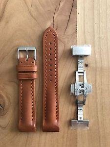 腕時計 ウォッチ フォルティスブラウンレザーブレスレットfortis b42 y f43 original pulsera de cuero marrn, 20mm, con faltschliee nuevo