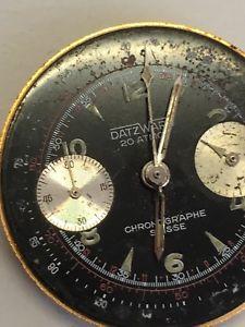 【送料無料】腕時計 ウォッチ movement valjoux 92 complete no running no nivada chronomaster aviator