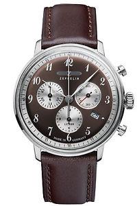 【送料無料】腕時計 ウォッチ ツェッペリンヒンデンブルククロノグラフアラームクロノグラフzeppelin hindenburg lz129 crongrafo reloj crongrafo 70865
