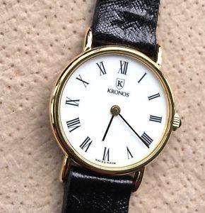 【送料無料】腕時計 ウォッチ リザードトカゲヴィンテージアラームnos nuevo kronos lagarto lizard lezard vintage watch 25 mm reloj