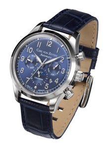【送料無料】腕時計 ウォッチ カールフォンcarl von zeyten cvz0026bl automtico elz