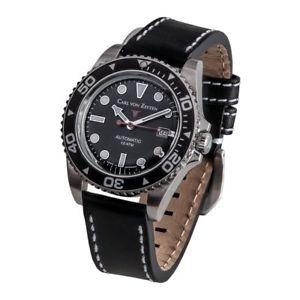 【送料無料】腕時計 ウォッチ カールフォンアラームcarl von zeyten seores reloj reloj de pulsera automtico n 30 cvz0030bk