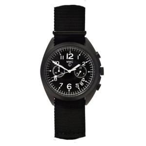 【送料無料】腕時計 ウォッチ クロノグラフクオーツmwc cronografo ibrido meccanico quarzo acciaio pvd nero tessuto orologio uomo