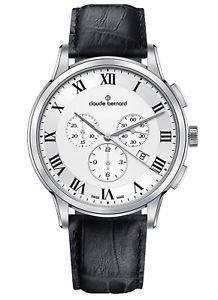 arn bernard ウォッチ クロードベルナールクラシッククロノグラフクォーツーーclaude chronograph 10237 【送料無料】腕時計 cuarzo 3 fecha classic