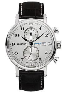 腕時計 ウォッチ アラームナイツクロノグラフクロノjunkers reloj expedition sudamrica caballeroschronograph chrono 65861 nuevo amp; ovp