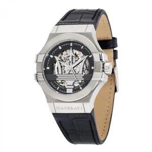 potenza orologio ウォッチ r8821108001 maserati uomo 【送料無料】腕時計 meccanico nero automatico