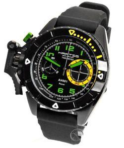 green hombre 【送料無料】腕時計 racer ウォッチ nuevo reloj レーサーアラームhartig